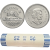 2005-P Canada 5-Cent Original Roll of 40pcs -