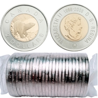 2006 Canada 10th Anniversary $2 Original Roll of 25pcs