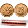 2007 Magnetic Canada 1-cent Original Roll of 50pcs (some rolls double headed)