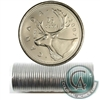 2007 Canada 25-Cent Caribou Original Roll of 40 pcs