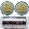 2008 Canada Polar Bear Two Dollar Roll of 25pcs
