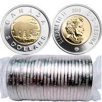 2010 Canada Polar Bear Two Dollar Roll of 25pcs