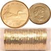 2010 Canada Regular Loon Dollar Roll of 25pcs