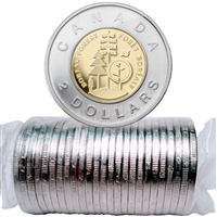 2011 Canada Boreal Forest Two Dollar Original Roll of 25pcs