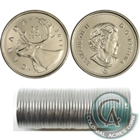 2011 Caribou Canada 25-Cents Original Roll of 40pcs