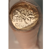 2012 Magnetic Canada 1-cent Original Roll of 50 pcs.