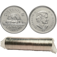 2013 Canada 5-cent Original Roll of 40pcs