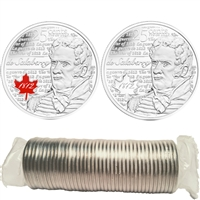 2013 Salaberry Canada 25-Cents Original Roll of 40pcs - Some Coloured.