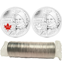 2013 Canada 25ct Laura Secord Original Roll of 40pcs - Some Coloured