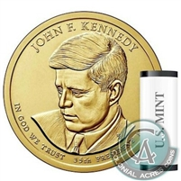 2015 US Presidential Dollar - John Kennedy P - Original Roll of 25pcs