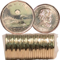 2018 Canada Loon Dollar Original Roll of 25pcs
