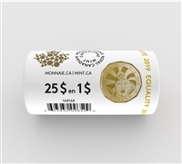 (Pre-Order) 2019 Canada $1 Equality Special Wrap Roll of 25 pcs