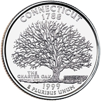 1999-P USA Statehood Quarter - Connecticut Brilliant Uncirculated (MS-63)