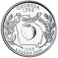 1999-D USA Statehood Quarter - Georgia Brilliant Uncirculated (MS-63)