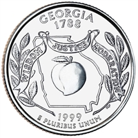 1999-P USA Statehood Quarter - Georgia Brilliant Uncirculated (MS-63)