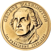 2007-P USA Presidential Dollar - George Washington Brilliant Uncirculated (MS-63)