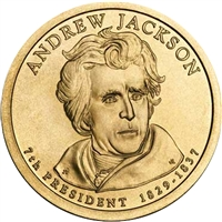 2008-P USA Presidential Dollar - Andrew Jackson Brilliant Uncirculated (MS-63)