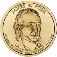 2009-D USA Presidential Dollar - James Polk Brilliant Uncirculated (MS-63)