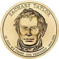 2009-P USA Presidential Dollar - Zachary Taylor Brilliant Uncirculated (MS-63)