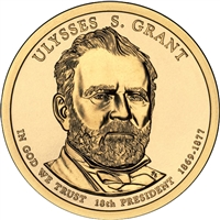 2011-D USA Presidential Dollar - Ulysses S. Grant Brilliant Uncirculated (MS-63)