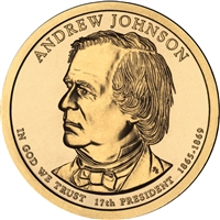 2011-P USA Presidential Dollar - Andrew Johnson Brilliant Uncirculated (MS-63)