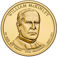 2013-D USA Presidential Dollar - William McKinley Brilliant Uncirculated (MS-63)