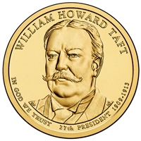 2013-D USA Presidential Dollar - William Howard Taft Brilliant Uncirculated (MS-63)