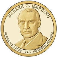 2014-P USA Presidential Dollar - Warren G. Harding Brilliant Uncirculated (MS-63)
