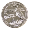 2015 S Bombay Hook USA National Parks Quarter Brilliant Uncirculated (MS-63)