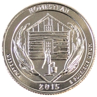 2015 S Homestead USA National Parks Quarter Brilliant Uncirculated (MS-63)