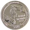 2015 S Saratoga USA National Parks Quarter Brilliant Uncirculated (MS-63)