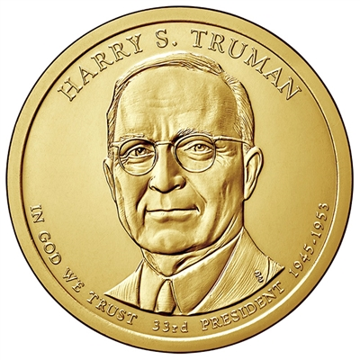 2015-D USA Presidential Dollar - Harry S. Truman Brilliant Uncirculated (MS-63)