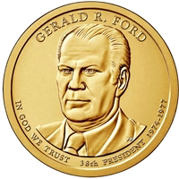 2016-D USA Presidential Dollar - Gerald Ford Brilliant Uncirculated (MS-63)