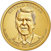 2016-P USA Presidential Dollar - Ronald Reagan Brilliant Uncirculated (MS-63)