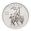 1999 Canada 50-cent Invention of Basketball Sterling Silver