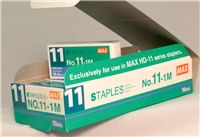 10,000 Staples (10 boxes) for SMALL Hand Held Stapler (HD-11-FLK)