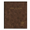 Fifty Cents 1946-2016 Unimaster Brown Vinyl Coin Binders