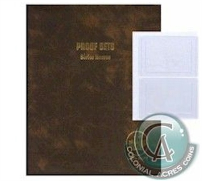 (Pre-Order) Unimaster Canada Proof Like Set Brown Vinyl Binder