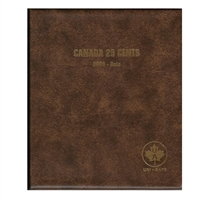 Twenty-Five Cents 2000-Date Unimaster Brown Vinyl Coin Binders