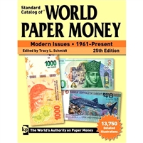 Standard Catalogue of World Paper Money MODERN ISSUES 1961-Present 25th Ed.