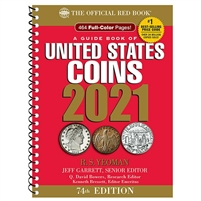 2021 United States Red Book Guide of United States Coins - 73rd Ed.