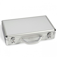 Empty Numis Aluminum Coin Tray Case - Holds up to 6 blue TAB trays (not included)