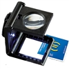 Linen Tester 5x Collapsible Magnifier with LED light