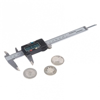 Digital slide gauge with 6 digit LCD display - SL1