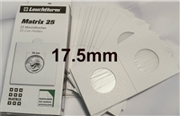 25 x Self-Adhesive Cardboard 2x2 Holders - Misc size - (17.5mm).
