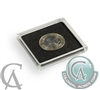 Box of 10x Quadrum Square Coin Capsules for coins up to 32mm (Nickel Dollar) Quadrum32