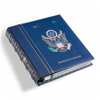VISTA 2007-2016 US Blue Presidential Dollar Album (holds 43 coins)