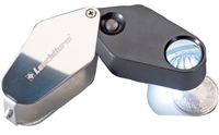 Illuminated Magnifiers 10x Power Loupe - LU24LED 329828.