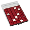Numis Coin Box with 12 Spaces for ICCS/Crown Size Holders up to 64mm