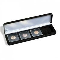 Numis Quadrum EMPTY Coin Box for 4x Square Quandrum Capsules - NobileQ4